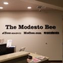 Modesto, CA – Acrylic FCO Display for a Newspaper in Modesto