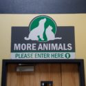 Modesto, CA – A Vinyl Graphic and Sign Refresh for Mayfield Animal Shelter