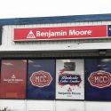 Modesto, CA – Vinyl Sign for Benjamin Moore Modesto Color Center